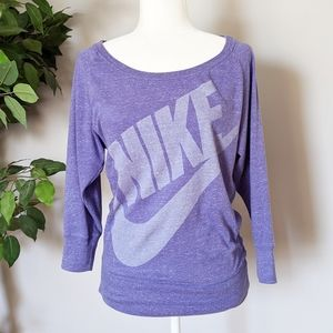 Nike purple pullover*